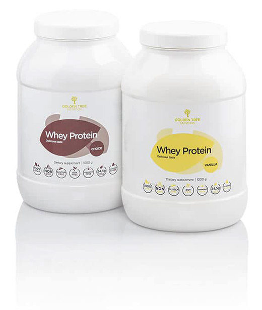 Golden TREE 100 % All-Natural Whey Protein