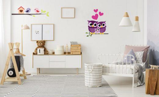 Stenska nalepka za otroško sobo