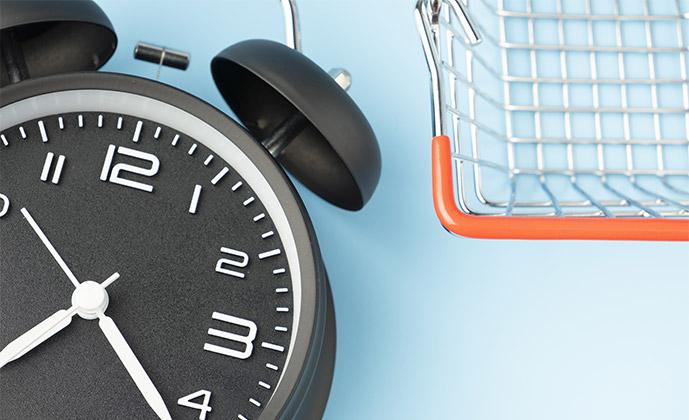 Čas postavitve spletne trgovine