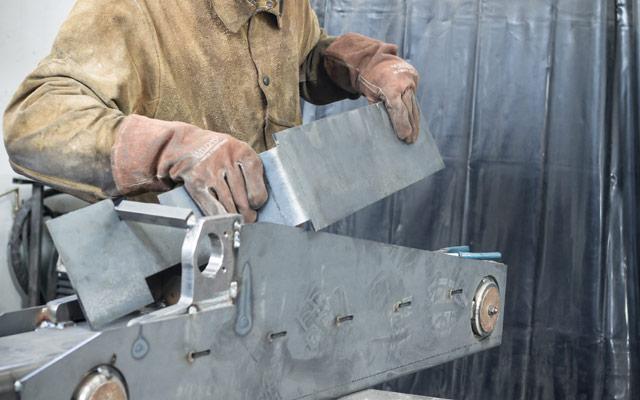Izdelovanje kovinske konstrukcije